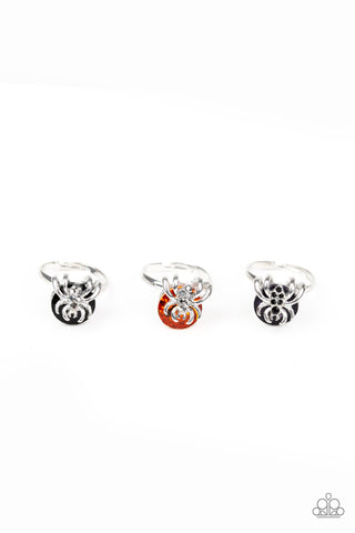 Paparazzi Accessories - Starlet Shimmer - Spider Gem Rings