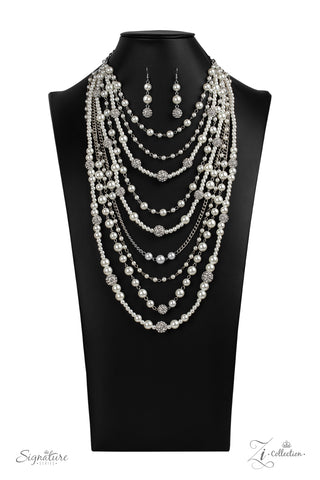 Paparazzi Accessories - The LeCricia - White Necklace Set