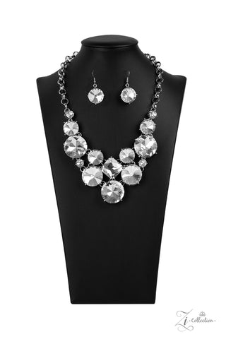 Paparazzi Accessories - Unpredictable - Silver Necklace Set
