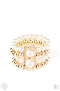Paparazzi Accessories - WEALTH-Conscious - Gold Bracelet