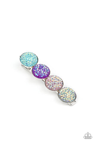 Paparazzi Accessories - When GLEAMS Come True - Multicolor Hair Clip