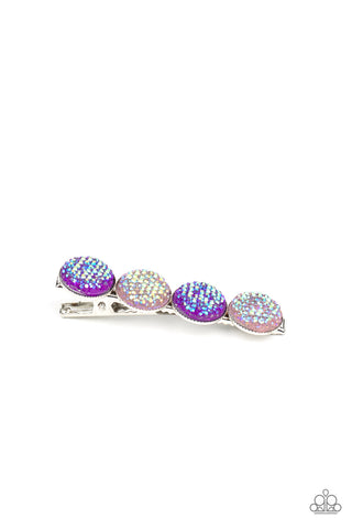 Paparazzi Accessories - When GLEAMS Come True - Purple Hair Clip