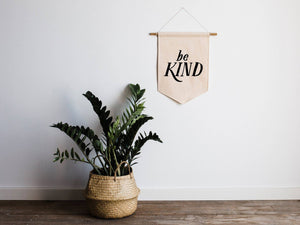 The Oyster's Pearl - Be Kind Canvas Banner - littlelightcollective