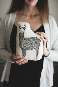 Llama Pillow - littlelightcollective