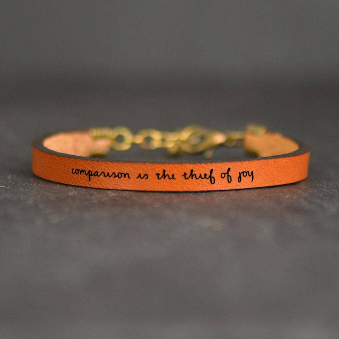 Laurel Denise - Comparison Is The Thief Of Joy - Bracelet - Addt Colors - littlelightcollective