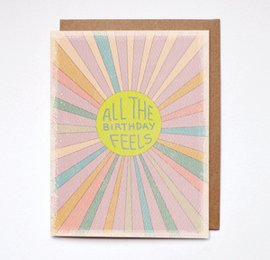 Daydream Prints - Birthday feels card - littlelightcollective