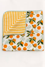 Load image into Gallery viewer, Clementine Reversible Quilt - littlelightcollective