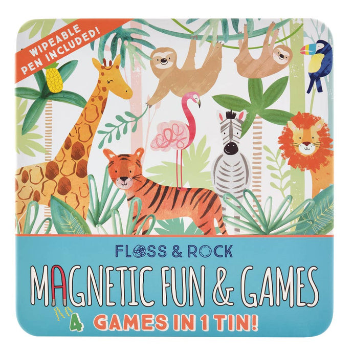 FlJungle Magnetic Fun and Games Compendium - littlelightcollective