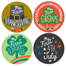Load image into Gallery viewer, My First Holiday Stickers - littlelightcollective