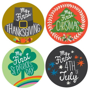 My First Holiday Stickers - littlelightcollective