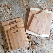 Load image into Gallery viewer, Ginger Squared - Cutting Board- Time Spent With Family - littlelightcollective