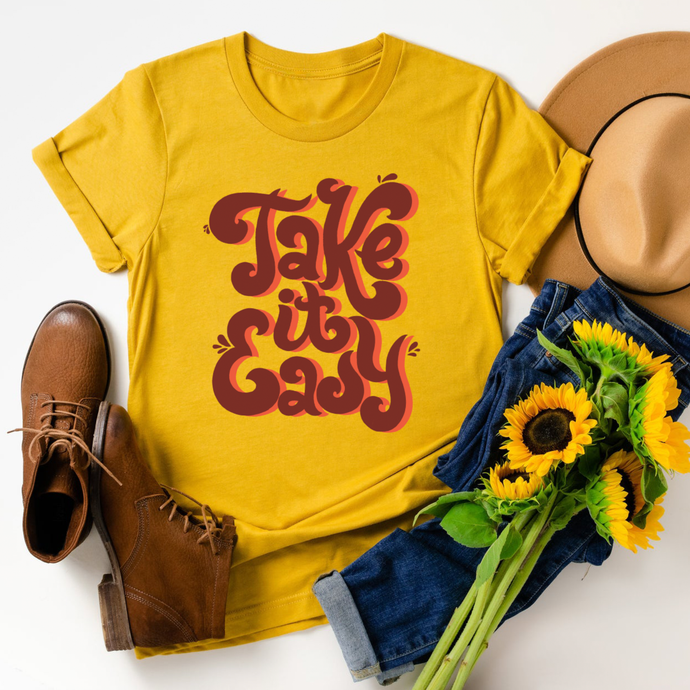 Take it Easy Graphic Tee - littlelightcollective