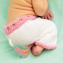 Load image into Gallery viewer, Newborn Unicorn Beanie Hat & Pants Set - littlelightcollective