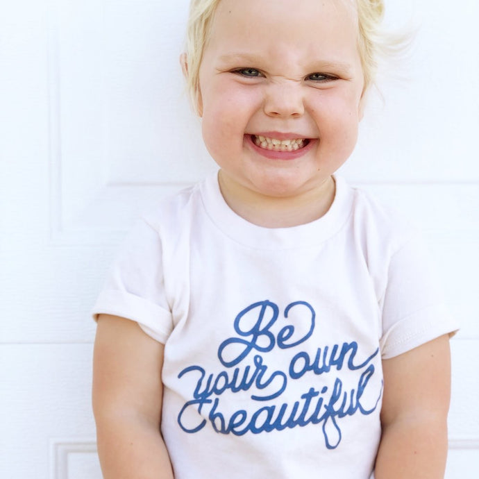 Be Your Own Beautiful Kids Tee - littlelightcollective