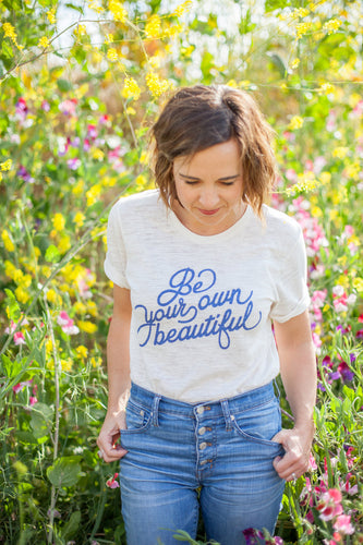 Be Your Own Beautiful Women's Tee - littlelightcollective