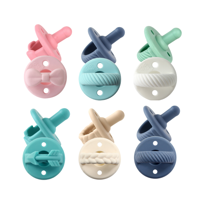 Itzy Ritzy - Sweetie Soother™ Pacifier Sets (2-pack) - littlelightcollective