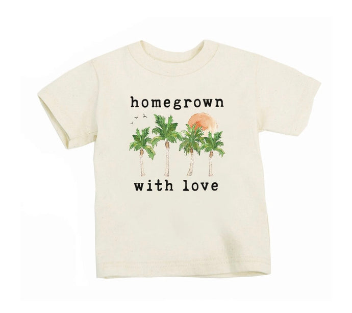 Homegrown with Love Organic T Shirt - littlelightcollective