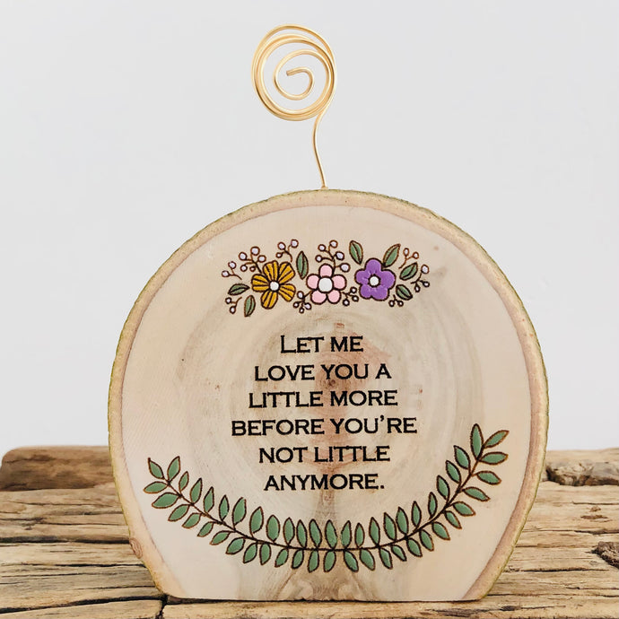 Let Me Love You - Photo Holder - littlelightcollective