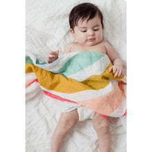 Load image into Gallery viewer, Rainbow Swaddle Blanket - littlelightcollective