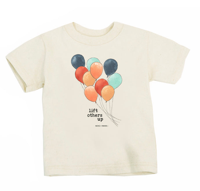 Lift Others Up Organic T Shirt - littlelightcollective
