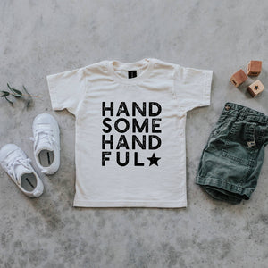Handsome Handful Organic Kids Tee - littlelightcollective