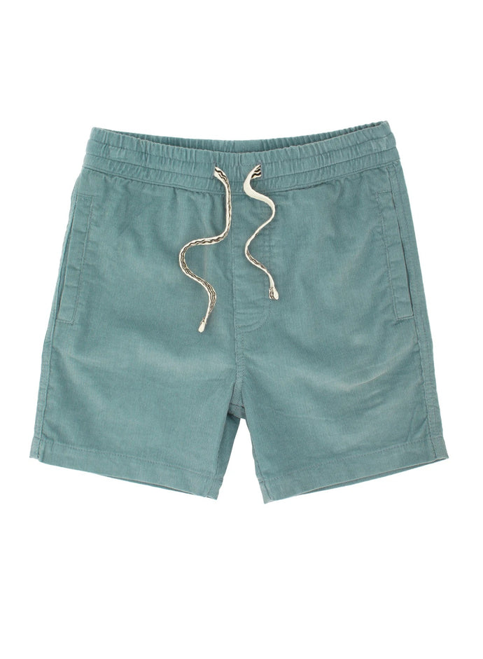 LINE UP PIN CORDUROY SHORTS - littlelightcollective