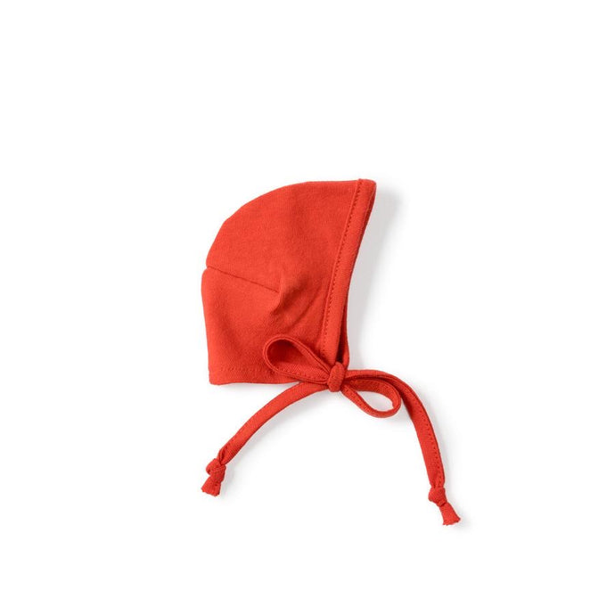 Red Bonnet for Dolls - littlelightcollective
