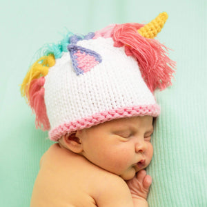 Newborn Unicorn Beanie Hat & Pants Set - littlelightcollective