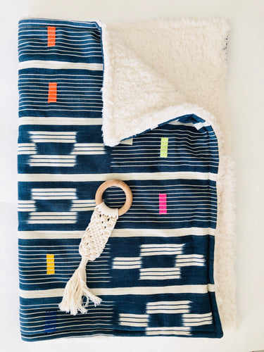 Mudcloth Baby Blanket - littlelightcollective
