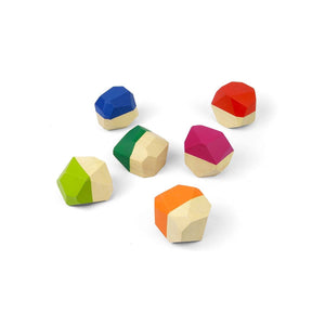 Pebbles Wooden Stacking Toy - littlelightcollective