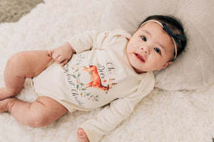 Oh Deer, It's My First Christmas One Piece Onesie - littlelightcollective