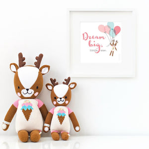 Willow the deer - littlelightcollective