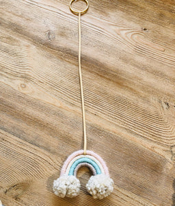 Rainbow Bow Hanger 1 - littlelightcollective