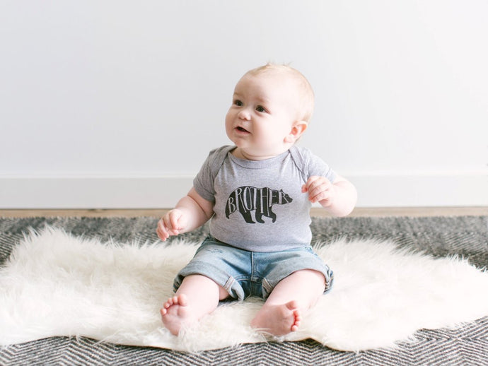 BROTHER BEAR BABY BODYSUIT - littlelightcollective