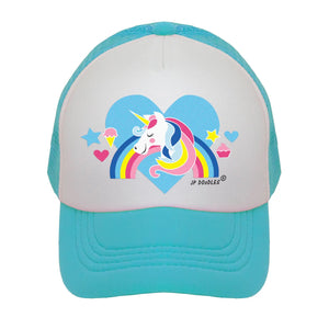 Unicorn Kids Trucker Hat - littlelightcollective