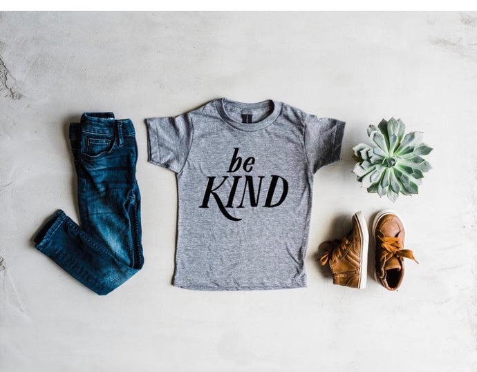 Be Kind Toddler/Youth Shirt - littlelightcollective