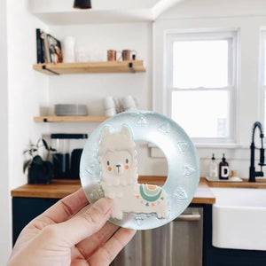Itzy Ritzy - Cute 'n Cool™ Llama Water Teether - littlelightcollective