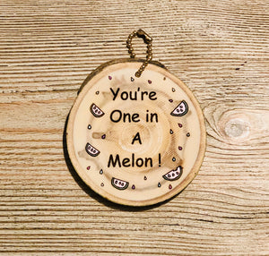 Mini Wood around One in a Melon - littlelightcollective