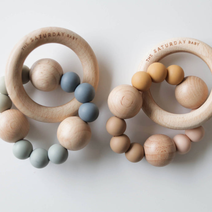 The Saturday Baby - The Saturday Baby Teether - littlelightcollective