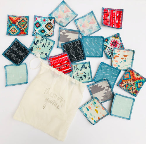 Fabric Matching Memory Game - littlelightcollective