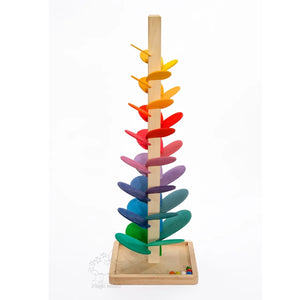 Whimsical Wooden Marble Tree - littlelightcollective