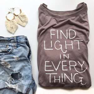 Find Light Tee Shirt - littlelightcollective