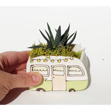 Load image into Gallery viewer, Julie Richard Ceramist - Small Vintage Green Boler Planter - littlelightcollective