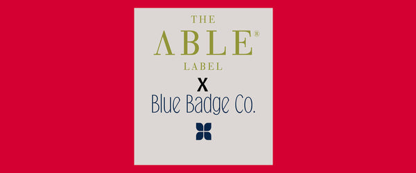A competition from The Able Label and the Blue Badge Company