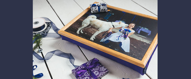 Win a Personalised Lap Tray in our Winter Wonderland Christmas Giveaway