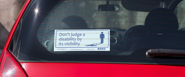 Blue Badge Co Disability Car Sticker