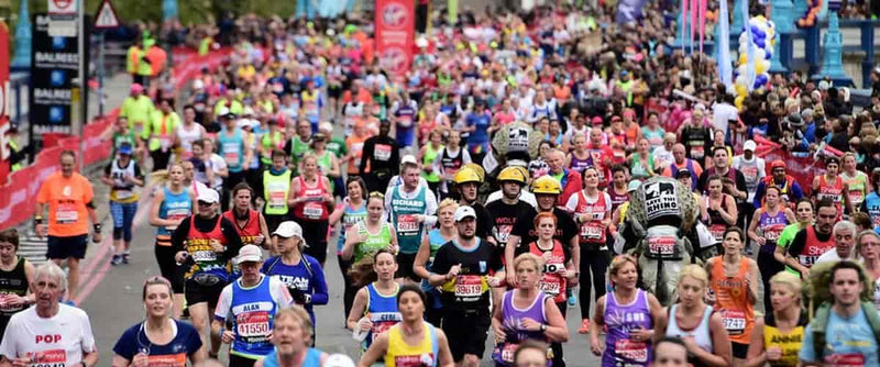 Who To Cheer For At The London Marathon 2018
