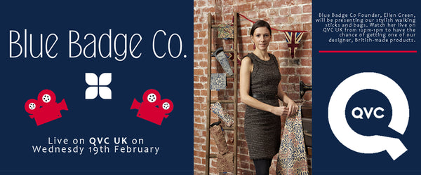 Blue Badge Co's Founder Live on QVC UK