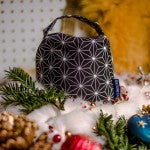Add a subtle, seasonal touch to your home with this Stellar, Christmas star print Fabric, Beanbag Door Stop £18
