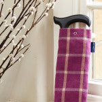 WALKING STICK STORAGE BAG IN 'HEATHER' FABRIC BY BLUE BADGE CO